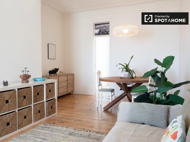 Chic 2-bedroom apartment for rent in Penha de França, Lisbon