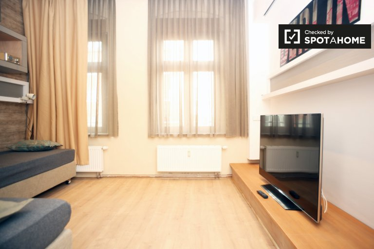 Moderno apartamento de 1 dormitorio en Pankow, Berlín