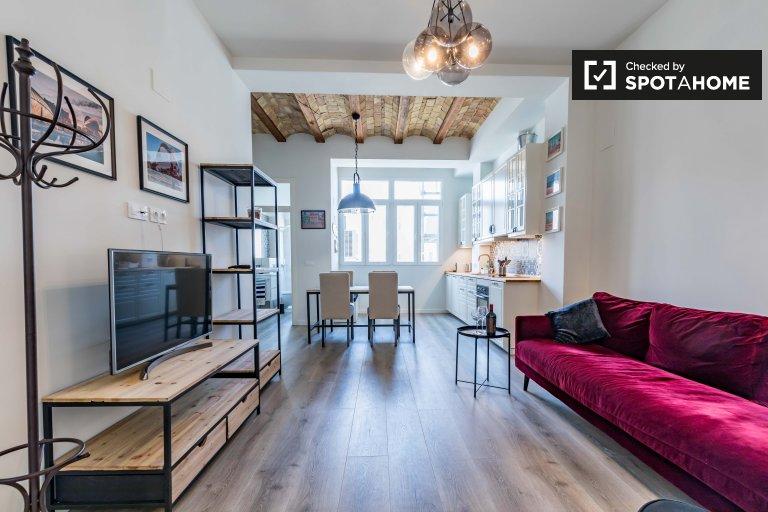 2 yatak odalı kiralık daire, Russafa, Valencia