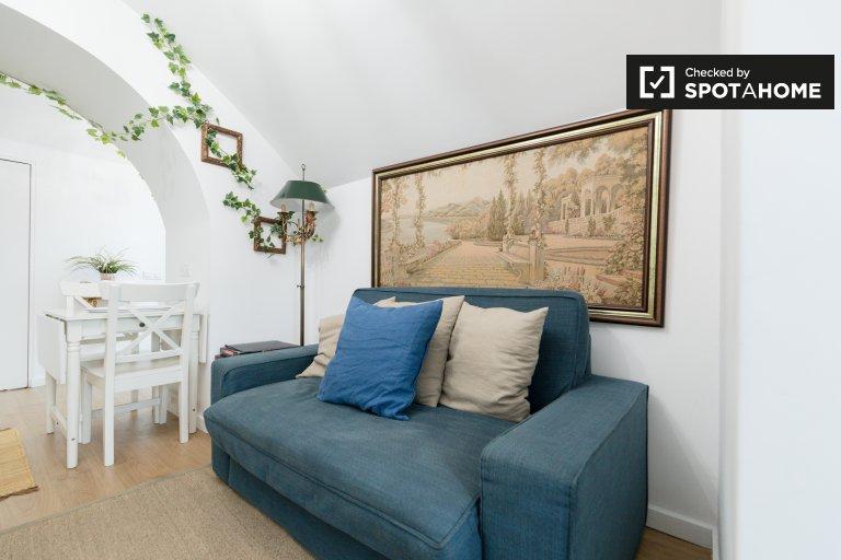 Cozy 1-bedroom apartment for rent in Penha de França, Lisbon