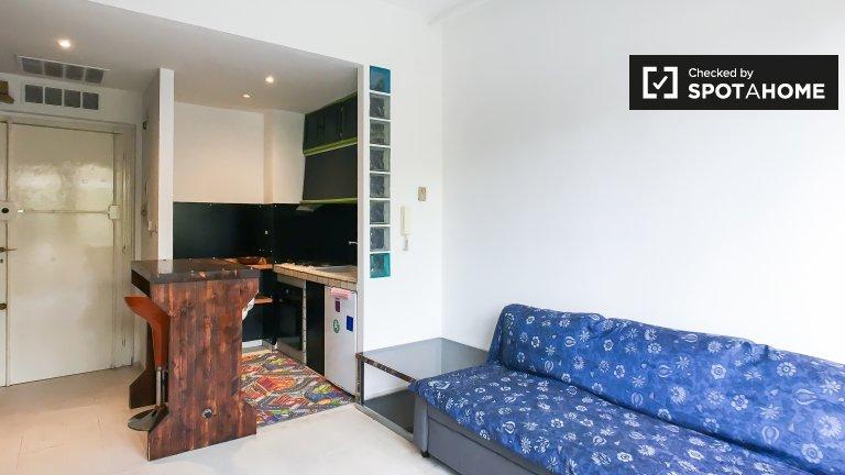 Acolhedor apartamento de 1 quarto para alugar em Lazio, Roma