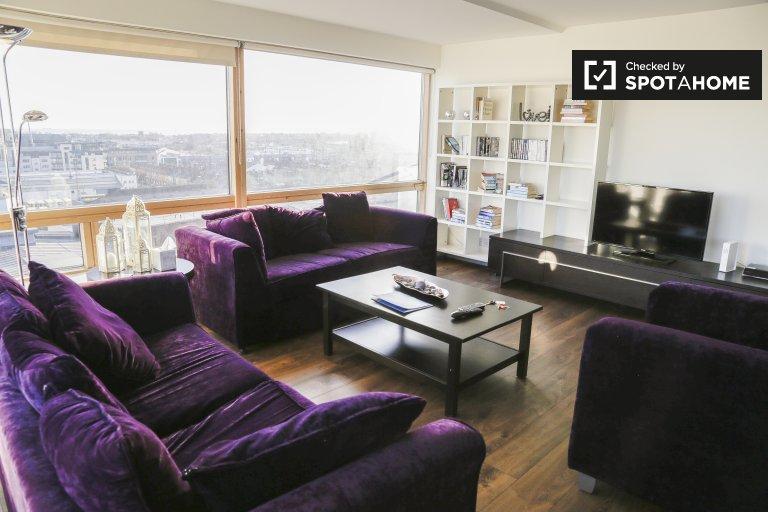Atemberaubende 2-Zimmer-Wohnung zur Miete in Ballsbridge, Dublin
