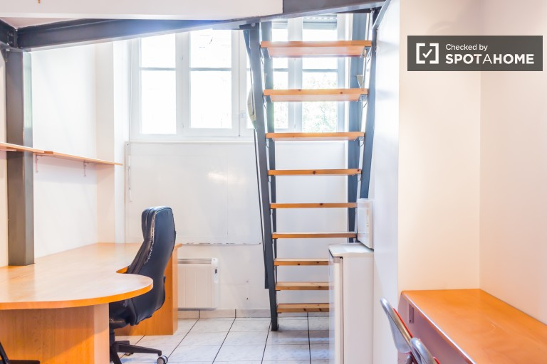 Cosy and compact 21 m2, pet-friendly studio apartment for rent in exclusive Brotteaux