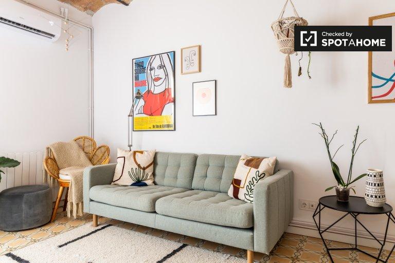 Apartamento de 2 dormitorios en alquiler en Poble-sec, Barcelona