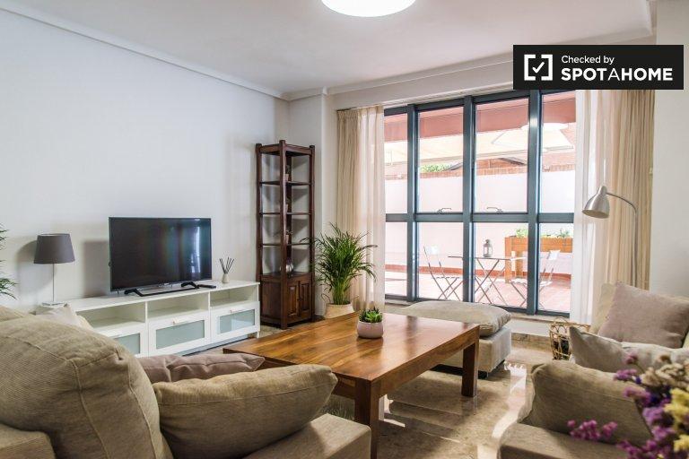 3-Zimmer-Wohnung zur Miete in Benimaclet, Valencia