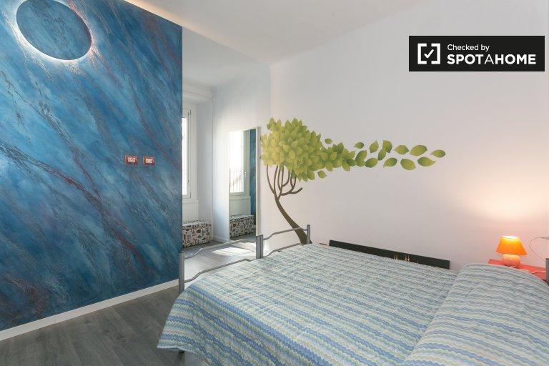 Apartamento de 1 quarto com ar condicionado para alugar em Sempione, Milão