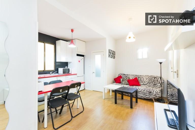 Apartamento de 2 quartos para alugar no centro de Lavapiés, Madrid