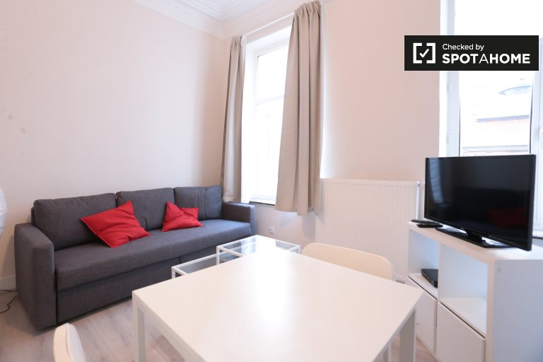 Trendy Studio-Apartment zu vermieten in Ixelles, Brüssel
