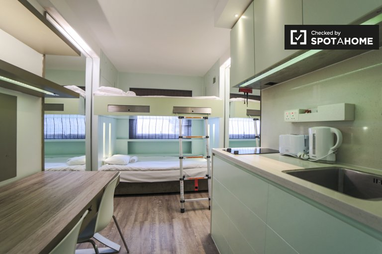 Moderno monolocale in affitto a Willesden, Londra