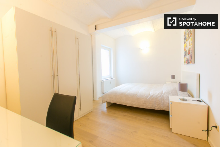 Equipped room in shared apartment, Brussels City Centre