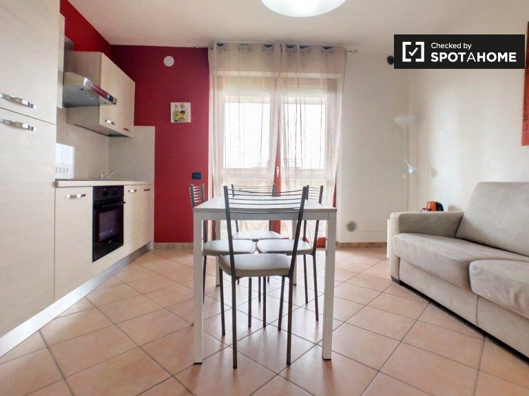 Brilhante apartamento de 1 quarto em Cinisello Balsamo, Milão