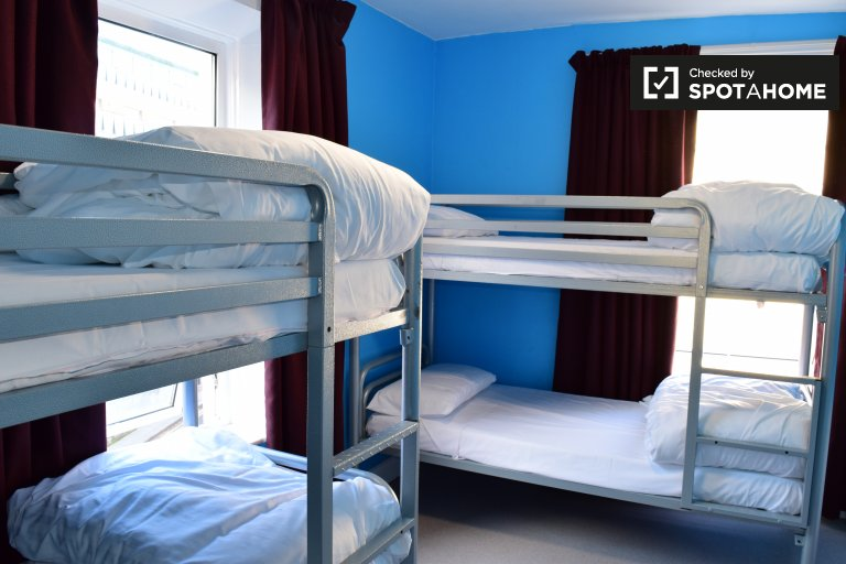 Bunk Beds in Rooms for rent in hostel in Dublin's Old City