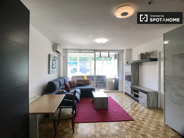 3-pokojowe mieszkanie do wynajęcia w Retiro w Madrycie