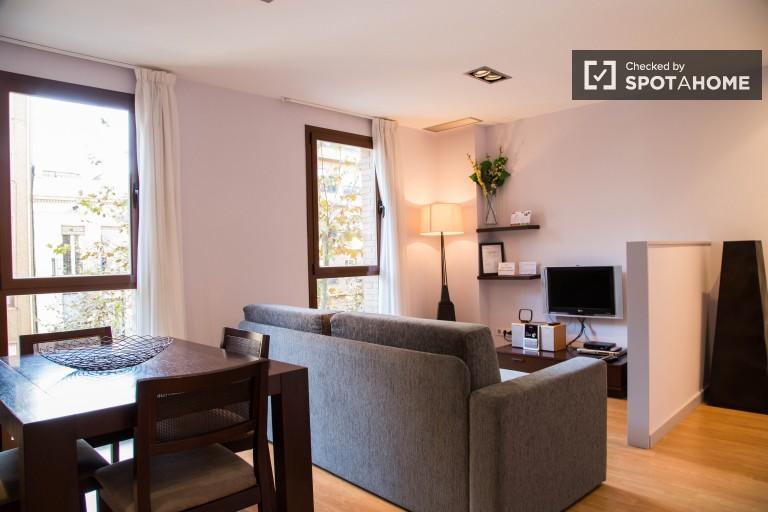 Bel appartement 1 chambre à Les Corts, Barcelone