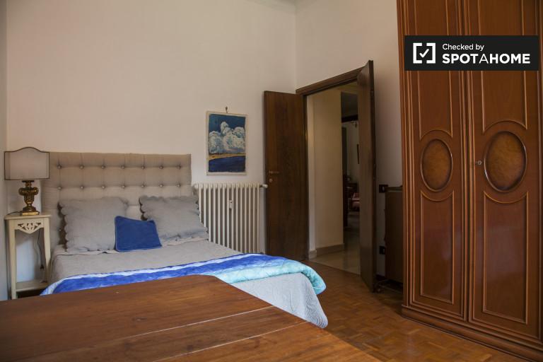Cichy pokój w apartamencie w Trieście w Rzymie