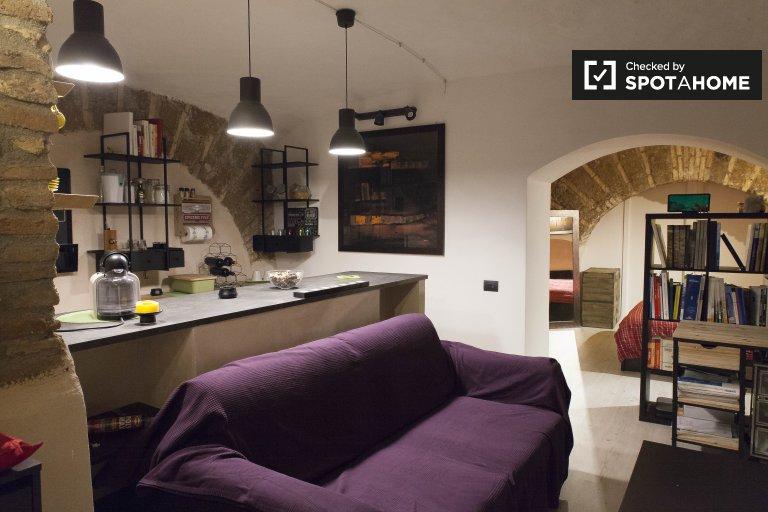 Estudio en alquiler en Trastevere, Roma