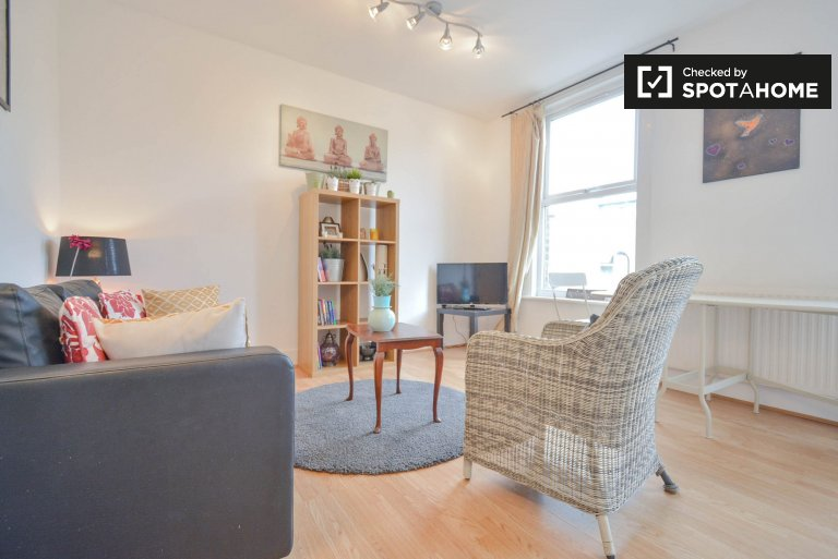 Nowoczesne 1-pokojowe mieszkanie do wynajęcia w Clapton, Londyn