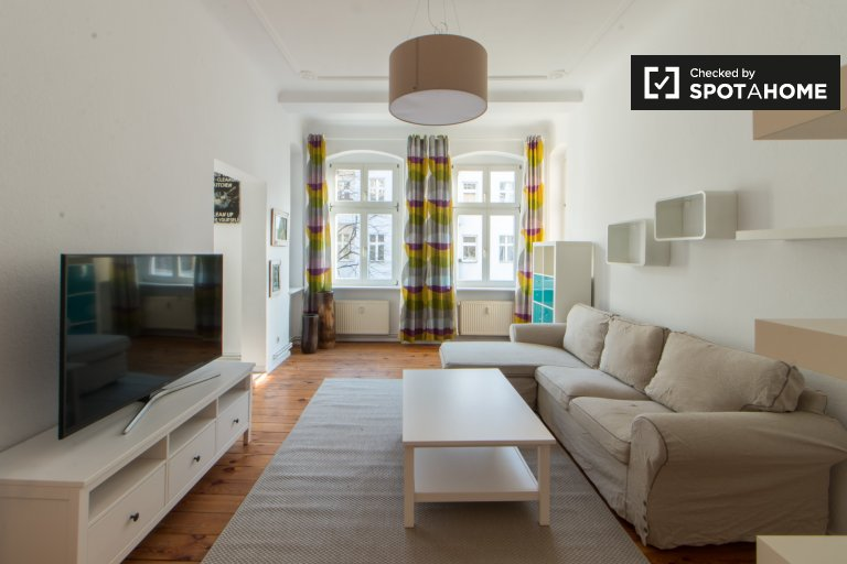 Urban 1-bedroom apartment for rent in Friedrichshain, Berlin