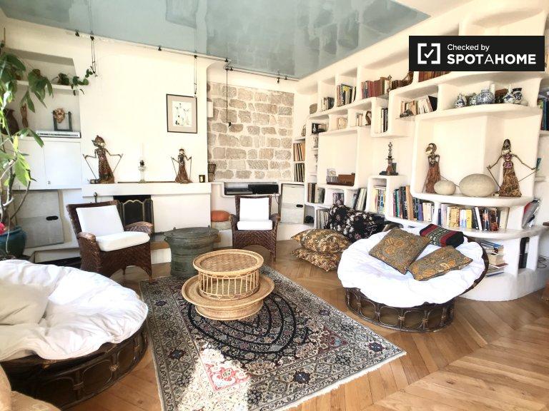 2-pokojowe mieszkanie Boho do wynajęcia w 5. dzielnicy