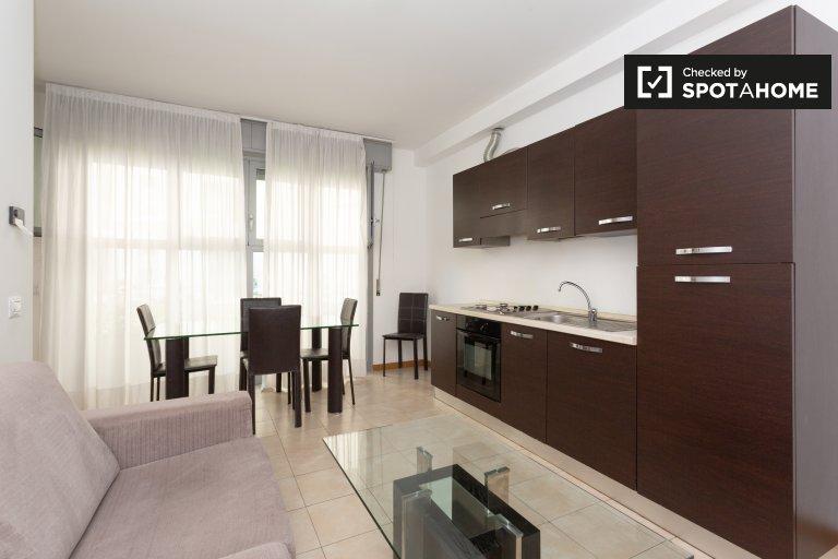 Agradable apartamento de 3 dormitorios en alquiler en Bovisa, Milán
