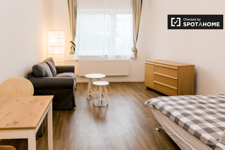 Renovated studio apartment to rent in Mariendorf, Berlin