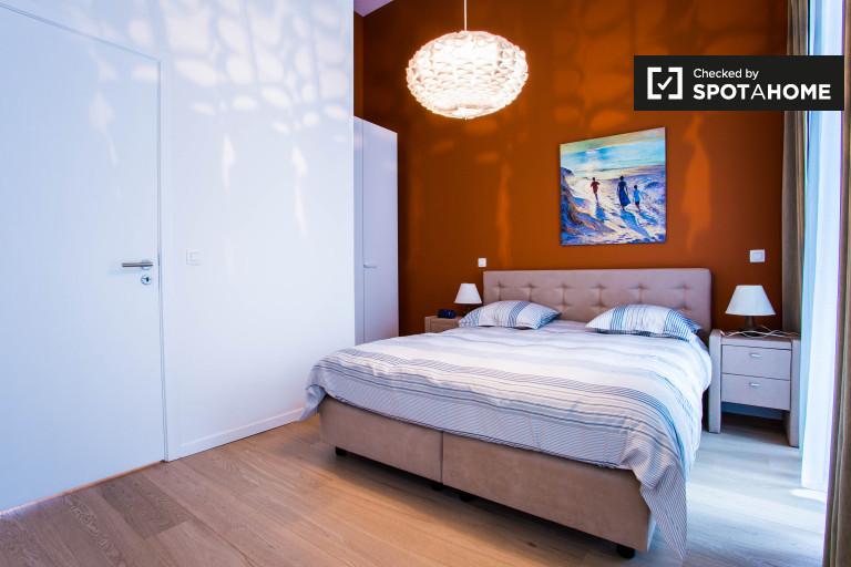 Elegante appartamento in affitto a Ixelles, Bruxelles, 1 camera da letto