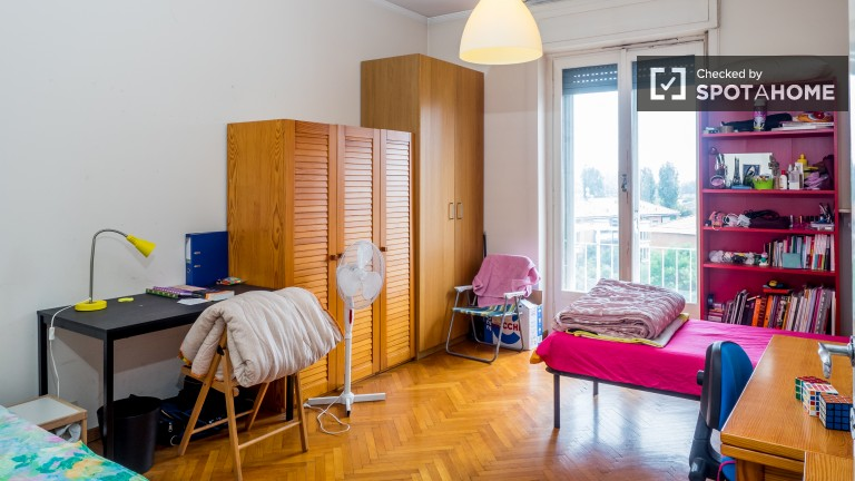 Large room in apartment in Città Studi, Milan