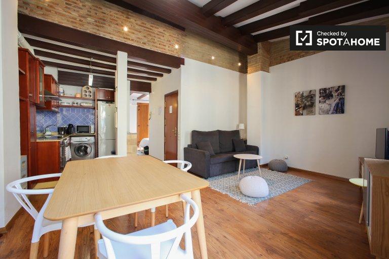 1-pokojowe mieszkanie do wynajęcia w Centralnej Walencji