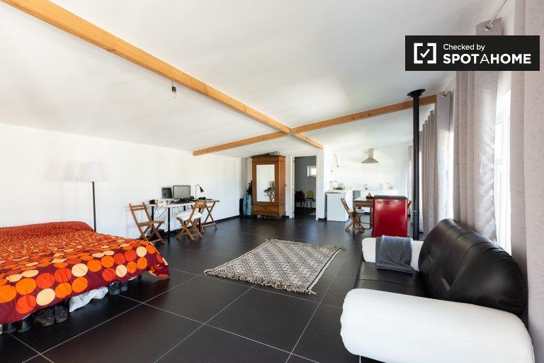 Lindo apartamento de estúdio para alugar em Ottenburg, Bruxelas