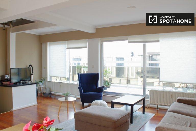 Moderne 1-Zimmer-Wohnung zur Miete im Stadtzentrum von Brüssel