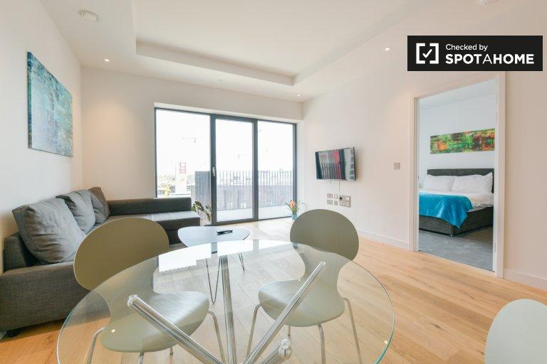 Elegante 1-Zimmer-Wohnung zur Miete in Tower Hamlets, London