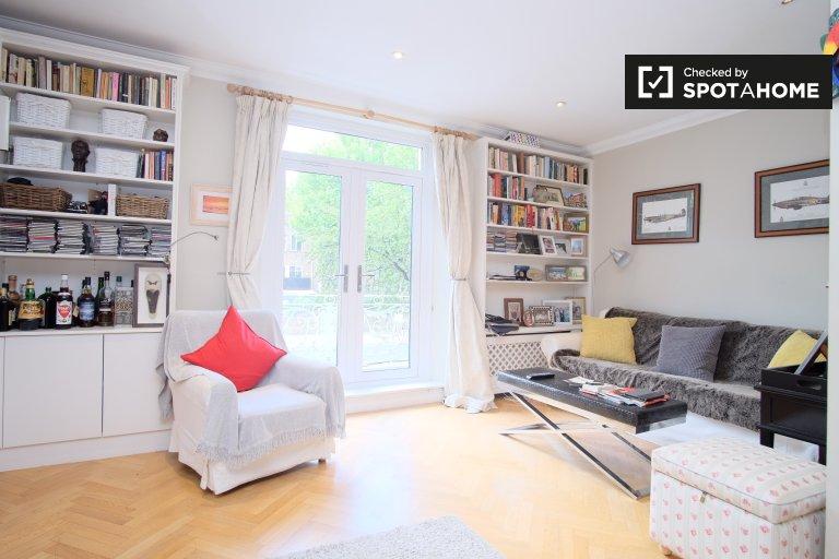Nowoczesne 1-pokojowe mieszkanie do wynajęcia w Chelsea, Londyn
