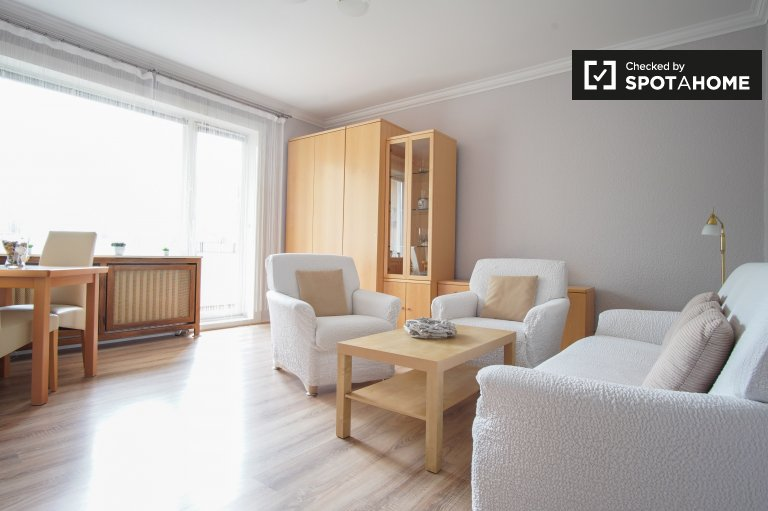 Large apartment with 1 bedroom for rent in Spandau, Berlin