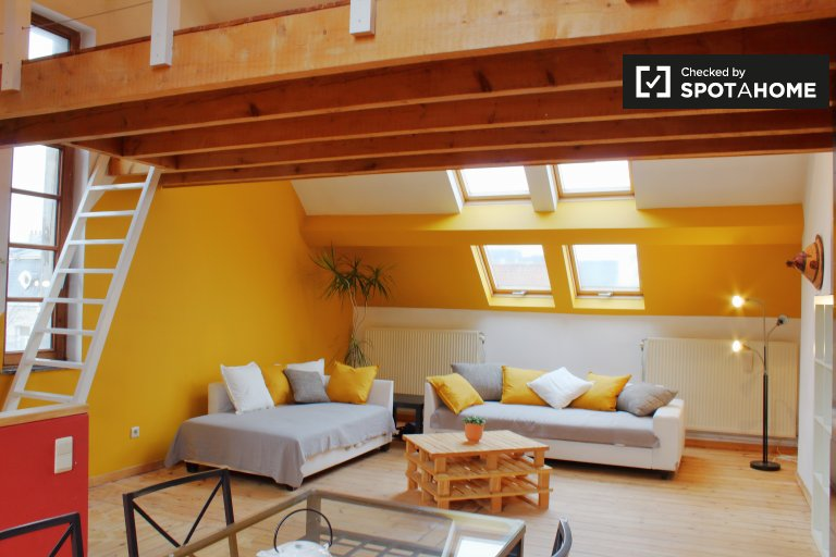 2-bedroom apartment for rent in Schaerbeek, Belgium