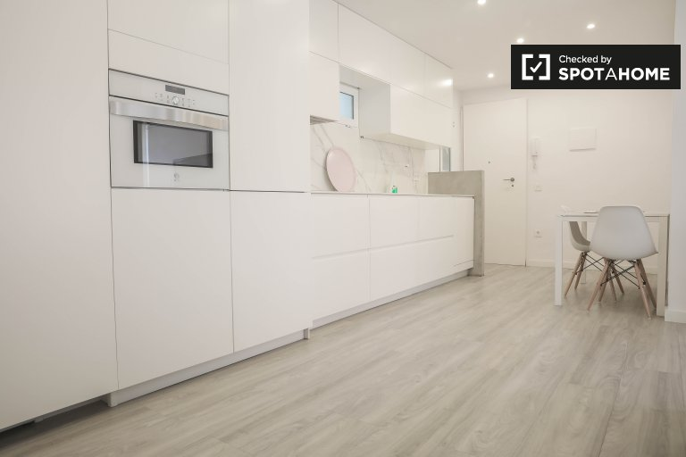 Apartamento de 1 quarto para alugar em Poblats Marítims, Valência