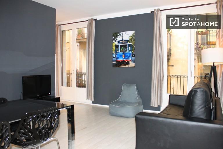 Moderno piso de 1 habitación en Barri Gotic, Barcelona