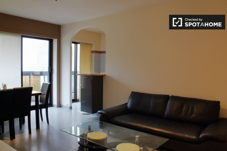 Cosy 1-bedroom apartment for rent, Anderlecht, Brussels