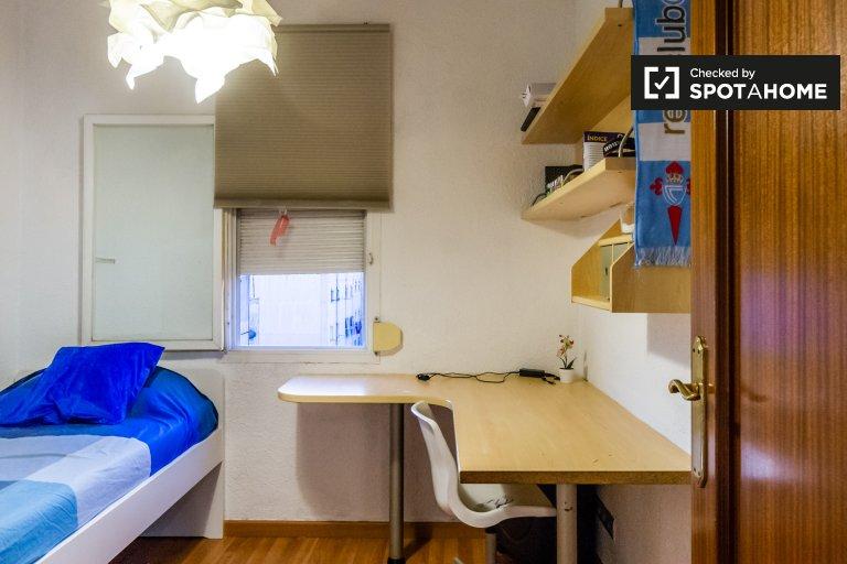 Se alquila habitación individual, apartamento de 3 dormitorios, L'Hospitalet