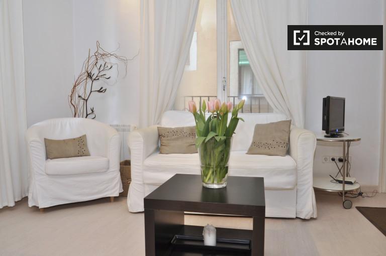 Nowoczesne 1-pokojowe mieszkanie do wynajęcia w El Born, Barcelona