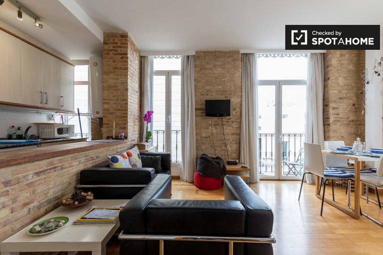 Appartement de 2 chambres à louer à Ciutat Vella, Valence