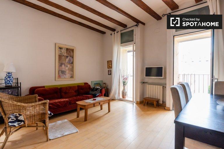 Helle 2-Zimmer-Wohnung zu vermieten, El Born, Barcelona