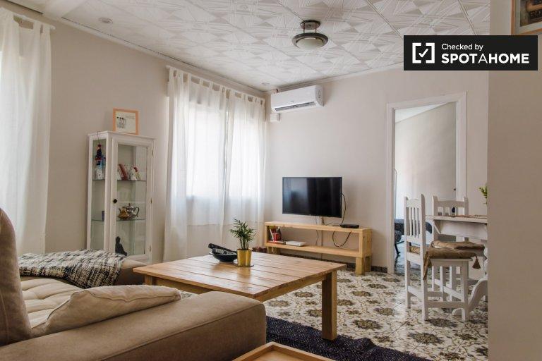 Nowoczesne 2-pokojowe mieszkanie do wynajęcia w La Saïdia, Valencia