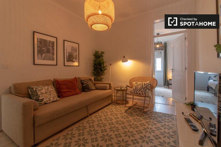 Fajne 4-pokojowe mieszkanie do wynajęcia w Alcântara, Lizbona