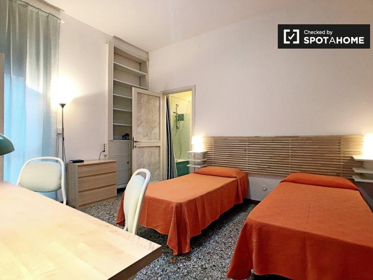 Habitación con cama para alquilar en un apartamento de 1 dormitorio en Bocconi