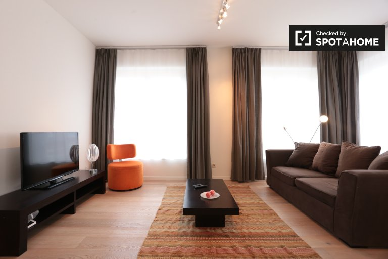 Stylish 2-bedroom apartment for rent in Etterbeek, Brussels