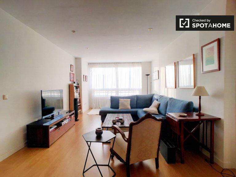 Spacious 3-bedroom apartment for rent in Retiro, Madrid