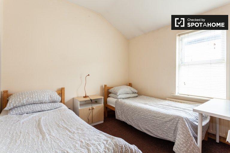 Łóżko do wynajęcia w domu z 12 sypialniami, uroczym śródmieściu, Dublin