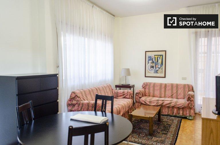 Appartement 1 chambre à louer à Torrino, Rome