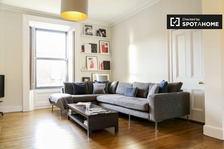 Elegancki 2-pokojowy apartament do wynajęcia w centrum Dublina