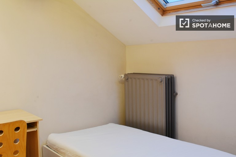 Bedroom 1 with Single Bed and Private Sink- Type A